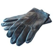 Se acabo el pasar frío! con estos guantes de cuero no sólo tendrás las manos calentitas, te van a proveer de clase y elegancia