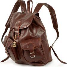 Con estas mochilas de cuero podrás ir a la última y llevar todas tus cosas cómodamente y con un estilazo de muerte.